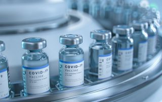 Covid -19 Vaccine on production line
